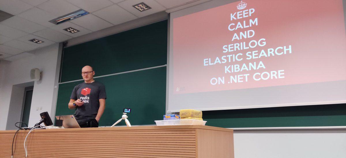 Keep Calm And Serilog Elasticsearch Kibana on .NET Core – 132. Spotkanie WG.NET